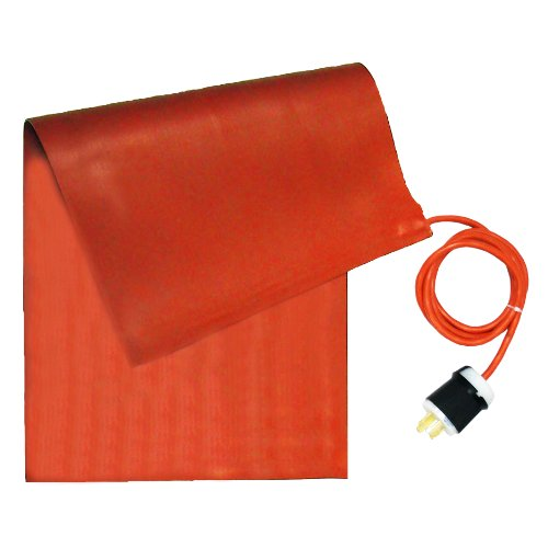 Affordable BriskHeat SRL06362 SRL Silicone Rubber Heating Blanket, Rectangular, 240V, W x L: 6 x 36-...