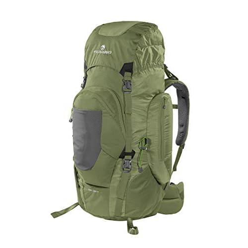 Ferrino Chilkoot 75, Zaino da Trekking Unisex, Verde, 75 L