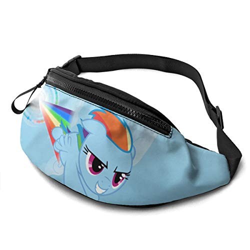 My Little Pony Waist Pack Bag Casual Fanny Pack for Men & Women With Adjustable Belt Sports Bag Running Bag Keep Fit With Exercise Jogging, Hiking Chest Pack Shoulder Bag