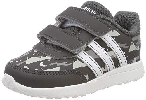 adidas Unisex Baby VS Switch 2 CMF INF Sneaker, Grau (Grey/Footwear White/Aero Blue 0), 26 EU