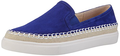 Buffalo London Damen 15BU0229 Kid Suede Slipper, Blau (Blue), 41 EU