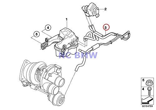 BMW Mini Genuine Turbocharger Vacuum Line Pipe Coop.S JCW Cooper S Coop.S JCW Coop.S JCW Cooper S Coop.S JCW Coop.S JCW Cooper S Coop.S JCW Coop.S JCW Coop.S JCW