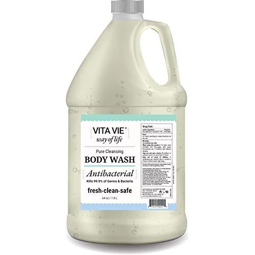 Vita Vie Antibacterial Body Wash, 64 oz