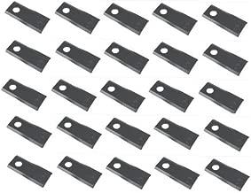 E80208 25 pk of RH Disc Mower Blades for John Deere 265 275 +
