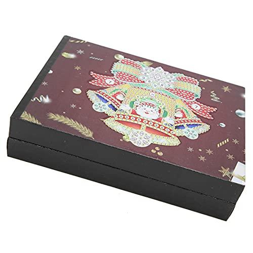 Eulbevoli Caja de Almacenamiento de Pintura de Diamantes, Caja de joyería de Pintura de Diamantes Moda para almacenar pequeñas artesanías como Regalo