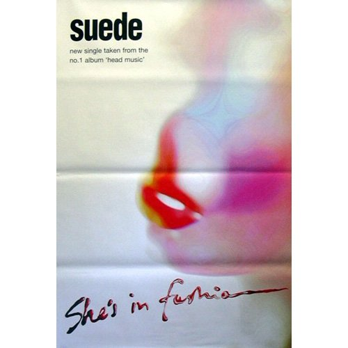 Suede - Poster gigante She's in fashion