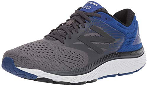 New Balance Men's 940 V4 Running Shoe, Magnet/Marine Blue, 10.5