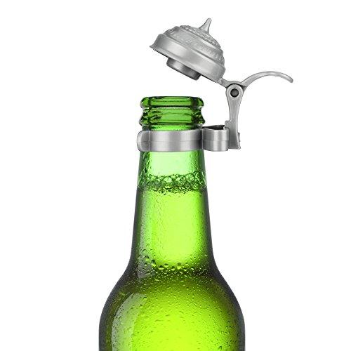 Bierflaschen - Deckel 4er Set für Party und Feiern im Freien