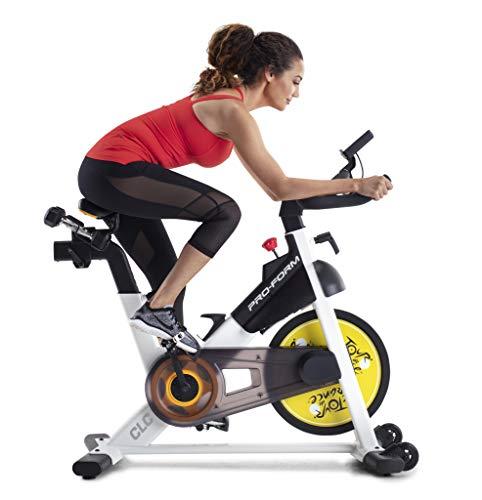 Proform TDF CLC - Bicicleta de ciclismo para adulto, unisex, color negro y gris, talla única