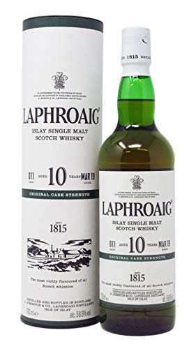 Laphroaig - Cask Strength Batch 011-10 year old Whisky