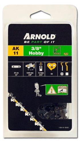 Arnold Sägekette 3/8 Zoll Hobby, 1.3 mm, 53 Treibglieder, 35 cm Schwert 1191-X1-0015