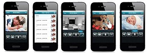 D-Link DCS-5020L funzionalità app