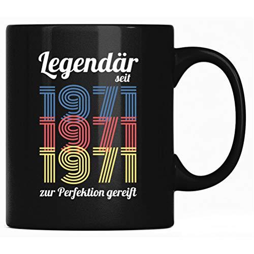 Legendär seit 1971 - Taza de 50 cumpleaños, diseño de Nerds