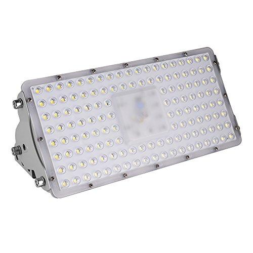 Viugreum Led Fluter 100W, IP65 Wasserdicht Led Floodlight für Garten, Garage, Sportplatz, 10000LM, Kaltweiß(6000K-6500K)