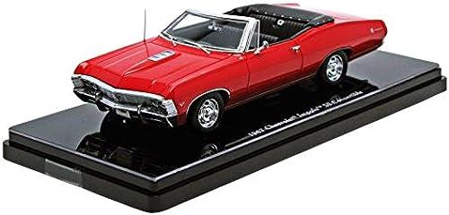 Chevrolet 1967 Impala ConGrünible 1 43 Die Cast Model Car (rot)