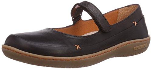 Birkenstock Shoes Birkenstock Shoes Damen Iona Mary Jane Halbschuhe, Braun (Dunkelbraun), 36 EU