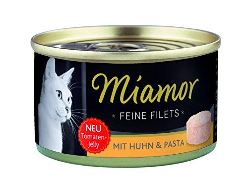 Miamor Katzenfutter Feine Filets Huhn+Pasta 100 g, 24er Pack (24 x 100 g)