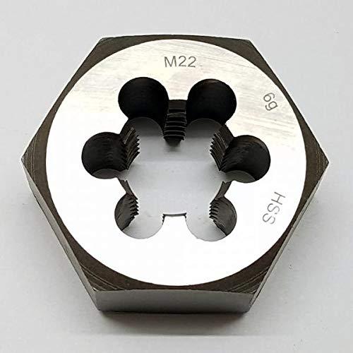 M22 Schneideisen SECHSKANT Schneidmutter Regelgewinde