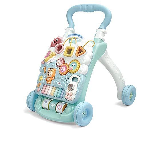 Review Btybess Piano Baby Walker Trolley Toy Anti Rollover Speed Baby Walker Play O Walker Legs Play...