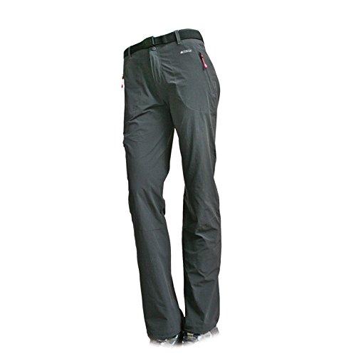 ALTUS Shell Layer Pantalons Femme, Gris, M