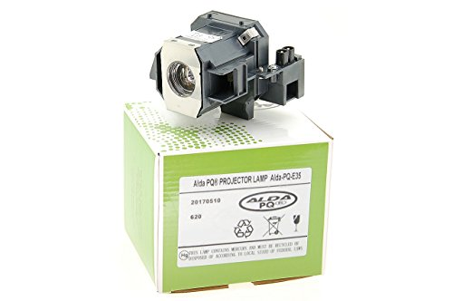 Alda PQ-Premium, Beamerlampe/Ersatzlampe für EPSON Cinema 550, EMP-TW520, EMP-TW600, EMP-TW620, EMP-TW680, POWERLITE HC 400, POWERLITE PC 800 Projektoren, Lampe mit Gehäuse