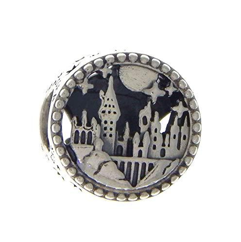 Pandora Harry Potter, Hogwarts Schule für Hexerei und Zauberei Charm, Silber, 1,14cm, 798622C00