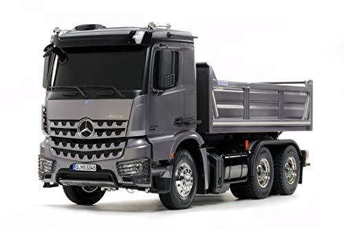 Tamiya MB Arocs 3348 de 3 Ejes, para Montar, teledirigido, camión, Juguete de construcción, maquetas, Manualidades (56357)