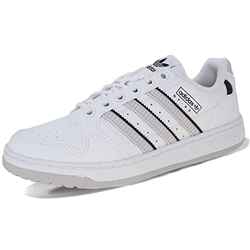 adidas NY 90 Stripes, Zapatillas Deportivas Hombre, FTWR White Grey One Wonder White, 45 1/3 EU