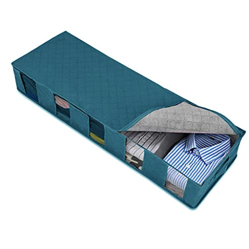 YFQHDD 3 Piezas Caja de Almacenamiento Separado a Domicilio 5 Grids Bra Almacenamiento Organizador de cajón Plegable (Color : B, Size : 97 * 15 * 33cm)