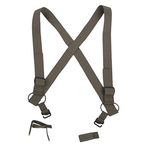 Viking Tactics VTAC Combat Suspenders Inspired by Army Scissors, OD Green
