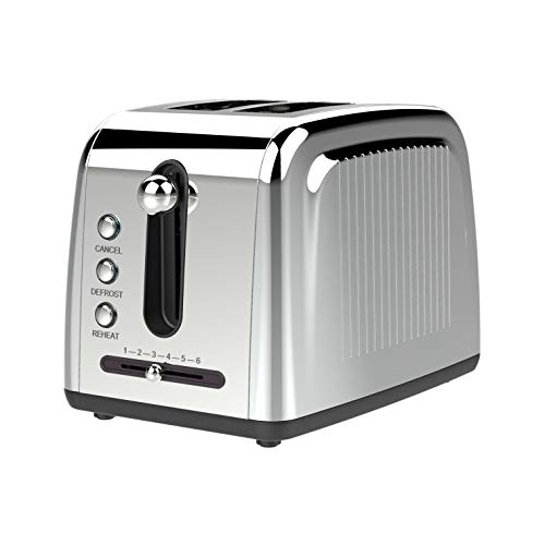 Brentwood Appliances BTWTS226S Extra Wide Slot 2-Slice Toaster, One Size, Silver
