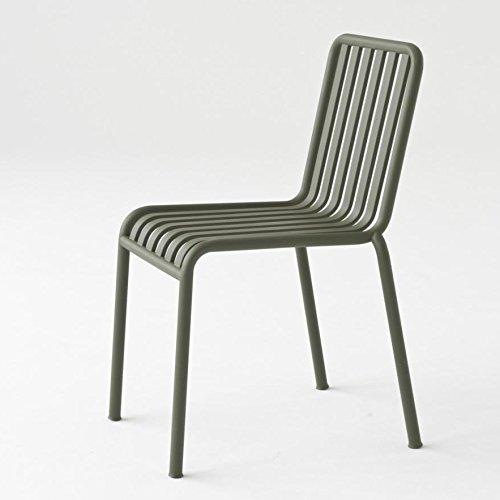 HAY Palissade stoel Standard Olijfgroen