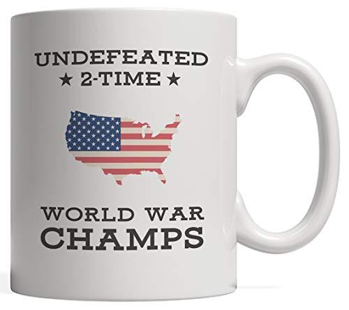 N\A Taza 2 Veces Invicta de campeones de la Guerra Mundial de EE. UU.