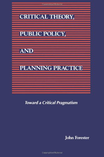 Critical Theory, Public Policy, and Planning Practice (SUNY Series in Political Theory: Contemporary Issues)
