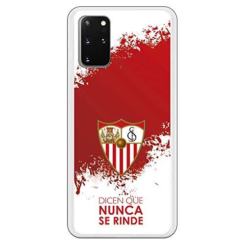 Funda para Samsung Galaxy S20 Plus Oficial del Sevilla FC Sevilla Dicen Que Nunca se Rinde para Proteger tu móvil. Carcasa para Samsung de Silicona Flexible con Licencia Oficial del Sevilla FC.