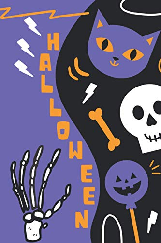 HALLOWEEN: Libro para colorear en Halloween para niños a partir de 3 años