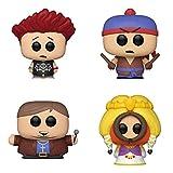 Funko Animation: POP! South Park Collectors Set - Jersey Kyle, Shadow Hachi Stan, Faith +1 Cartman, Princess Kenny