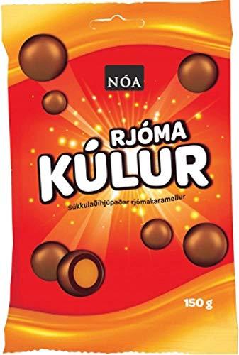 Schokoladenkugeln mit Karamellkern und Milchschokolade I Noa Lakkris