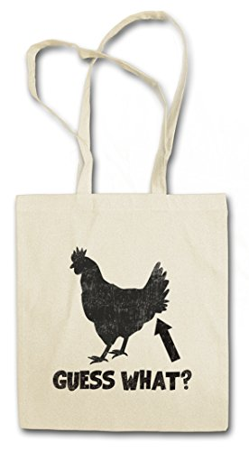 Urban Backwoods Guess What ? Boodschappentas Schoudertas Shopping Bag