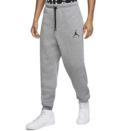 Air Jordan Jumpman - Pantalones de chándal para hombre (forro polar para correr y correr de alto rendimiento), color negro