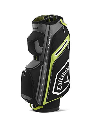 Callaway Bags Golf Chev 14+ Sac Chariot 2020 Adulte Unisexe, Noir/Jaune, Taille Unique