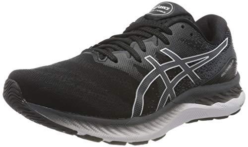 ASICS Gel-Nimbus 23, Road Running Shoe Uomo, Black/White, 41.5 EU