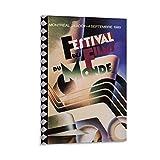 Montreal World Film Festival 1989 Leinwand-Kunst-Poster und