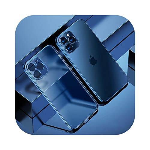 Carcasa de TPU transparente para iPhone 12 11 Pro Max Mini iPhone X XR XS 7 8 Plus 6 6S SE 2020 cubierta de teléfono transparente suave para iPhone 6 6S