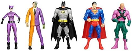 DC UNIVERSE Gotham City 5 - Superman, Batman, Lex Luthor, Catwoman and Two-Face