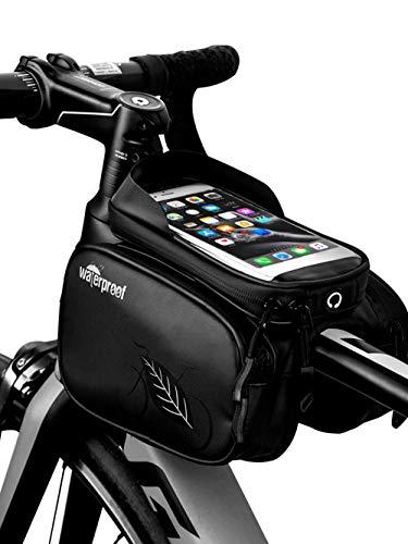 Vélo Bag-Riding Équipement Neutre Imperméable à l'eau Résistant à l'usure Professionnel Équipement de l'Équitation de l'Écran Tactile Sac de Selle Sac de Faisceau Avant de Téléphone