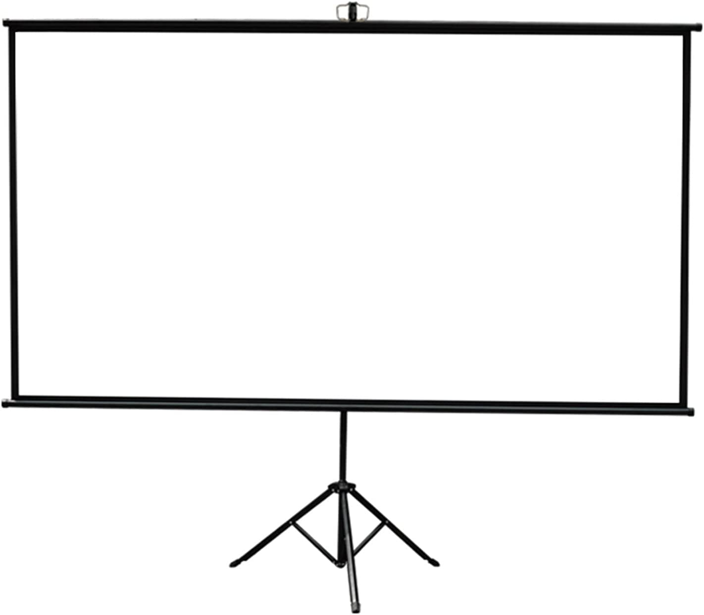 Projector Screen Portable 60/72/84 Inch, Projection screen 4:3/16:9 Aspect Ratio School Home Cinema for Screen, HD Screen for Indoor and Outdoor Movies Screen ( Color : 16:9 Screen , Size : 72inch )