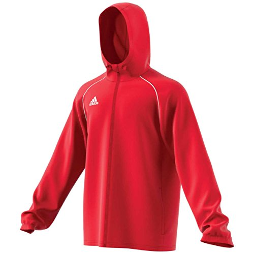 adidas CORE18 RN JKT Jacket, Hombre, Power Red/White, L