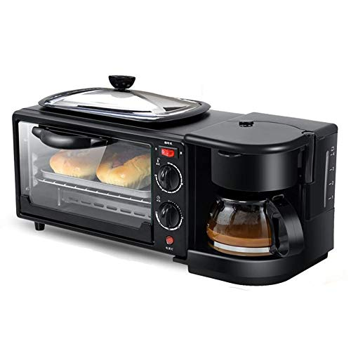 New Household multi-function breakfast machine, three-in-one electric oven/coffee/fried egg bread ma...