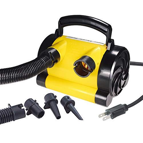電動 エアーポンプ AC100V MP139I コンセント トーイングチューブ ゴムボート 浮き輪 空気入れ 速い 簡単 海水浴